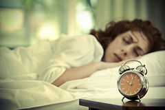 Sommeil Images stock