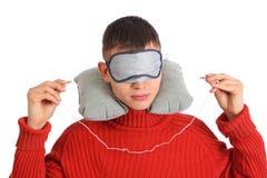 sommeil allant d'homme à Photographie stock libre de droits