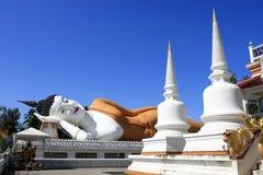 Sommeil Bouddha Images libres de droits