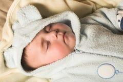 sommeil d'enfant Images libres de droits