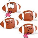 Sommeil de boule de rugby Photo stock