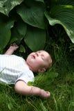 sommeil de chéri Image libre de droits