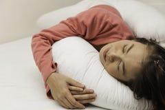 Endormi Images libres de droits