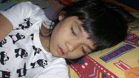 sommeil de fille Photo stock