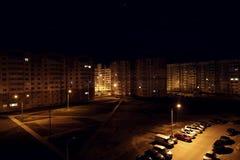 Sommeils de ville Lumière de nuit dortoir clips vidéos