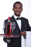 Sommelier Royalty Free Stock Photography