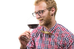 Sommelier Stock Photo