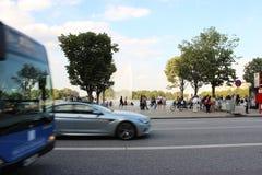 Sommer à Hambourg, mur d'Alster Photos libres de droits