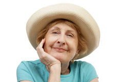 Sommer-Älterer - schön Stockbild