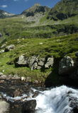 Sommer-Österreicher-Alpen Stockfotos