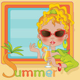 Sommer Stockfoto
