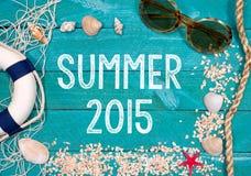 Sommer 2015 Stockbilder