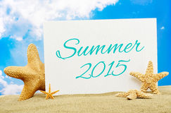 Sommer 2015 Stockfoto