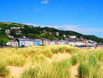 Sommer in Aberdovey wales Stockfotos