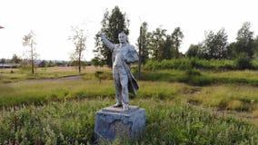 Sommer alter Lenin stock footage