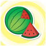 Sommer Art Series 11 - Wassermelone Stockfotos