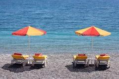 Sommer auf dem Strand lizenzfreie stockbilder