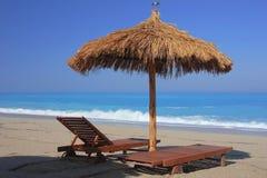 Sommer auf dem Strand Stockfoto