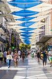 Sommer auf der des Preciadoss Straße Stockbild