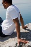 Sommer auf Ufer Lizenzfreie Stockfotografie