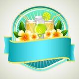 Sommer-Ausweis-Getränk Lizenzfreies Stockfoto