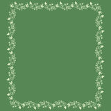 Sommer background  Floral frame Royalty Free Stock Photo