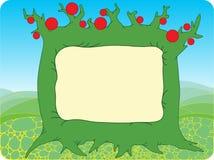 Sommer-Baum-Hintergrund Lizenzfreie Stockfotos