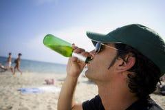 Sommer-Bier stockbild