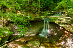 Sommer-Blau Hen Falls Stockbild
