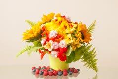 Sommer-Blumen-Blumenstrauß Lizenzfreies Stockfoto