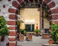 Sommer-Café Lizenzfreies Stockfoto