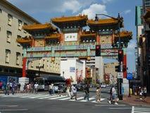 Sommer in Chinatown lizenzfreie stockbilder