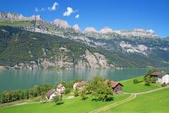 Sommer in den Alpen Lizenzfreies Stockfoto