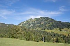 Sommer in den Alpen Stockbild