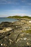 Sommer in der Insel von Gigha Lizenzfreies Stockfoto