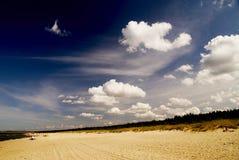 Sommer an der Küste Stockbilder