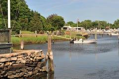 Sommer-Dock Lizenzfreie Stockbilder