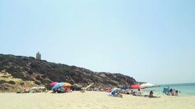 Sommer in einem Strand Stockfotografie