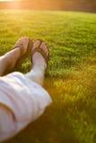 Sommer-Entspannung Lizenzfreies Stockfoto