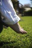 Sommer-Füße Stockbild