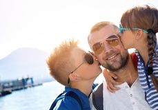 Sommer, Familienkonzept Lizenzfreie Stockbilder