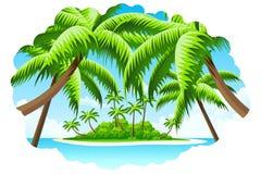 Sommer-Ferien-Hintergrund Stockfotografie