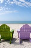 Sommer-Ferien-Strand stockfoto