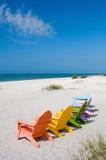 Sommer-Ferien-Strand Stockfotos