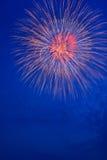 Sommer Fireworks-1 Lizenzfreies Stockbild