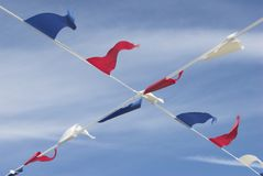 Sommer-Flagge Lizenzfreie Stockfotografie