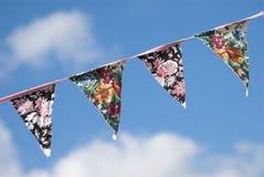 Sommer-Flagge Lizenzfreies Stockbild