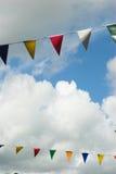 Sommer-Flagge Stockfotos