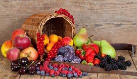 Sommer-Früchte Stockbild