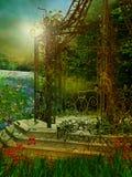 Sommer Gazebo Stockbild